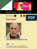 Encontro Com Roteiristas Brasileiros e Estrangeiros