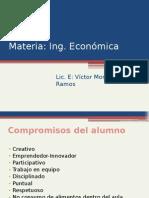 Materia Ing. Economica