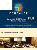 Large-Scale BYOD Wireless LMS Midterm and Final Exams (289157587)