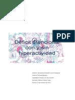 Defecit Atencional Grupal Macarena Currin Navarrete