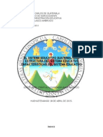 Sistema Educativo Guatemalteco