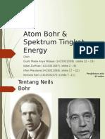 Kelompok 7 (Atom Bohr & Spektrum Tingkat Energi)