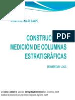 Construccion de Columnas Estratigraficas