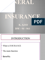 General insurance in India