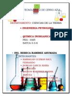 Trabajo de Quimica Inorganica