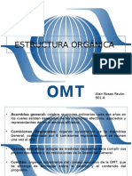 Estructura Organica de La OMT