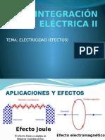 Electricidad Efectos