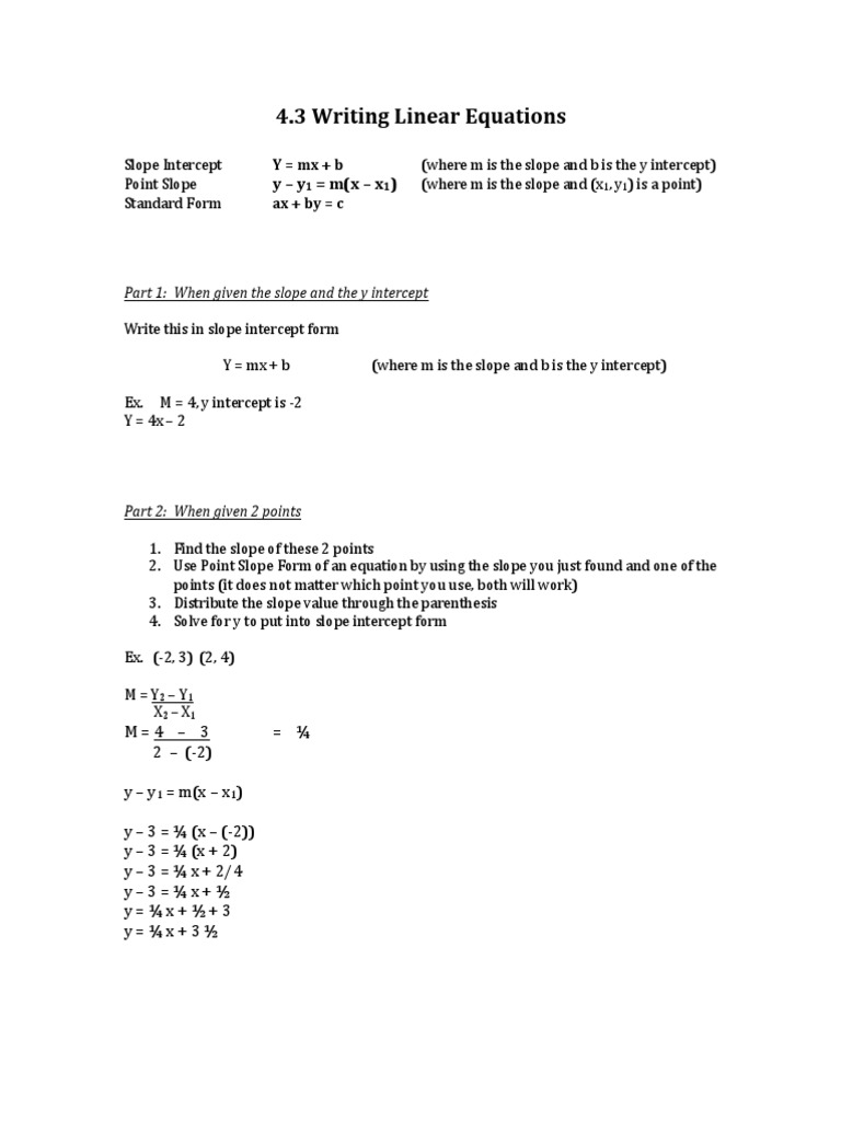 Notes for solving linear equations mathematical objects notes for solving linear equations mathematical objects mathematics falaconquin