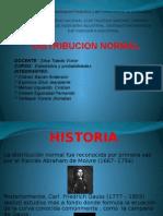 Distribucion Normal Estadistica