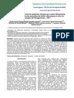 Efeito Do Óleo Essencial de Andiroba (Carapa Sp.) No Controle Alternativo de Rhizoctonia Solani e Germinação in Vitro de Sementes de Milho (Zea Mays) No Município de Paragominas – PA