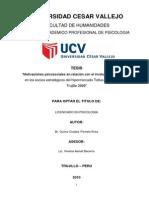 Motivaciones psicosociales en relación con el involucramiento laboral en los socios estratégicos del hipermercado Tottus de la ciudad de  Trujillo 2009