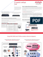Avaya+ERS+3500+quick+setup+guide+for+IP+Office