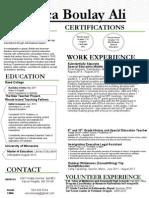 boulay erica - resume pptx