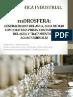 Hidrosfera Como Materia Prima