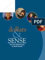 Dollars and Sense | The cost effectiveness of small schools