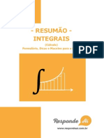 Resumao de Integrais Do Responde Ai