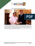 Photo Release on Premio Patrimonio de La Humanidad Heritage Award