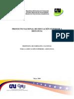 Propuesta de Normativa Educacion a Distancia Mayo