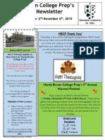 Newsletter - 11.2.2015