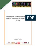 Políticas Públicas y Desarrollo Sustentables en Una Ciudad (...).