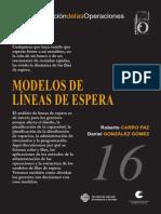 Modelos Lineas Espera