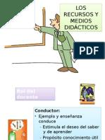 Los Recursos y Medios Didácticos