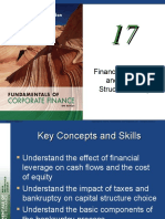 Chapter 17; financial leverage and capital structure policy