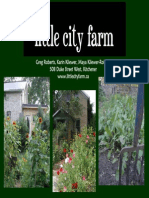 Little City Farm 20pages