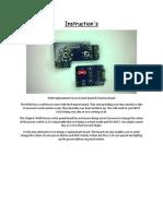H440 Instructions