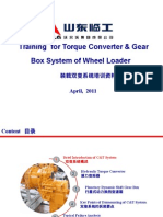 Training for Torque Converter & Gear Box System of Wheel Loader