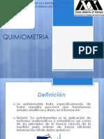 Quimiometria