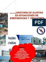 Alertas en Situaciones Desastre Loayza