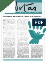 NOTAS nº 118 2010 (Banco de Idéias nº 50) - PROGRAMA NACIONAL DE DIREITOS HUMANOS – 3