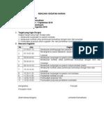 Rencana Kegiatan Harian Arfi 25082015