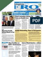 Washington D.C. Afro-American Newspaper, March 27, 2010