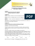 Parcial Domiciliario Taller de Matemática