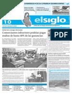 Edicion Impresa Elsiglo 10-11-2015