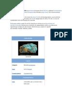 Caracteristicas de Los Minerales