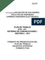Plan II-2011 Int