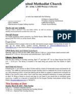 20100328 Announcements Print
