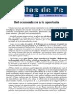 27 - Ecumenismo y apostasía (Defensa de la Fe).pdf