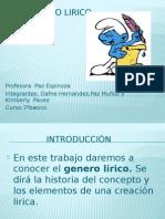 El genero lirico.pptx