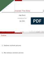 Univariate Time Series Part I