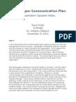 aet560 communication plan speaker notes