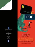 Bases concurso cuentos ilustrados Diputación de Badajoz 2015