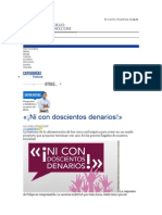 «¡Ni Con Doscientos Denarios!» - Pastoral - Entrevistas, Sexualidad, Consejería, Adicciones, Predicaciones - Desarrollo Cristiano Internacional - Articulos