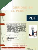 Incentivar Seguridad en El Perú