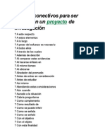 Lista de Conectivos Para Ser Usados
