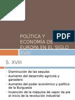 Economía y Política Europea Del Siglo XVIII