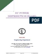 Dc Poweer Distribution Switch Board